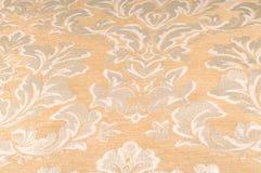 纹理,背景,样式 织品室内装饰品锦缎是reve 免版税库存照片