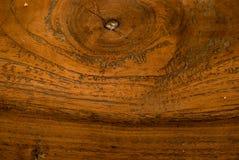 纹理:柚木树木头 免版税库存照片
