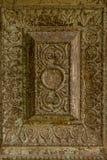 纹理-中世纪石装饰品 库存图片