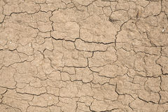 纹理-土壤-破裂的土 库存照片