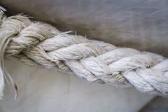 纹理绳子 免版税库存图片