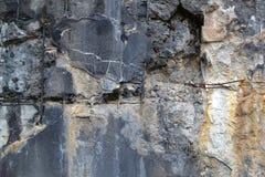 纹理1664 -损坏的混凝土 库存照片
