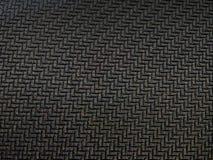 纹理黑橡胶之字形线 图库摄影