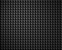 纹理黑灰色金字塔结构 库存照片