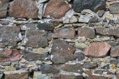 纹理1730 -石墙 免版税库存照片