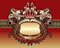 纹章学符号 免版税库存照片