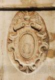 纹章学象征在威尼斯 免版税库存照片