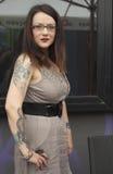 纹身花刺作为时尚 免版税库存照片