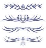 纹身花刺的汇集 免版税库存照片