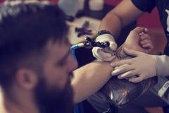 纹身花刺艺术 库存图片