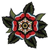 纹身花刺花以抽象形式 向量例证
