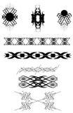 纹身花刺设计 库存图片