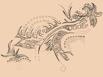 纹身花刺 图库摄影
