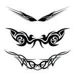 纹身花刺 向量例证