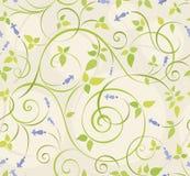 纺织品、纸或者表面纹理的传染媒介花卉无缝的patternn背景 向量例证