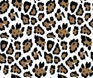 纺织品印刷品的无缝的豹子皮肤样式Womenswear的打印的织品设计的,内衣,activewear kidswear 向量例证