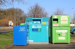 纺织品回收。 免版税库存照片