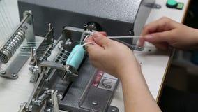 纺织品工厂的工作 影视素材