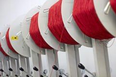 纺织品工厂 免版税库存照片