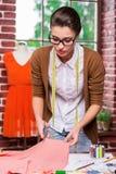 纺织品切口 免版税图库摄影