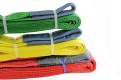 纺织品带子吊索 免版税图库摄影
