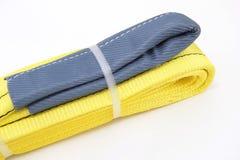 纺织品带子吊索 免版税库存照片