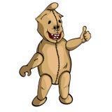 纺织品微笑的动画片 免版税库存照片