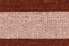 纺织品毛线,织品元素,焦茶色的帆布,轻的材料,设计背景 免版税库存照片