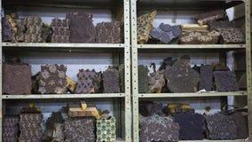 纺织品的木刻版印刷在印度 斋浦尔木刻版印刷Tradi 库存照片