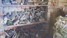 纺织品的木刻版印刷在印度 斋浦尔木刻版印刷Tradi 免版税库存照片