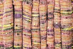 纺织品背景 免版税库存图片
