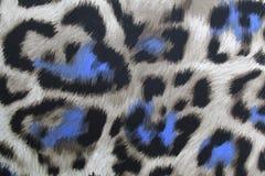 纺织品豹子 免版税库存图片