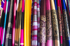 纺织品 免版税库存照片