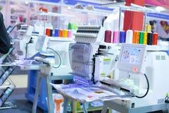 纺织机器 免版税库存图片