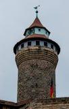 纽伦堡城堡(Sinwell塔) 免版税图库摄影