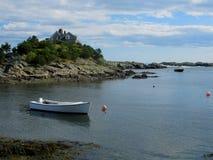 纽波特罗德岛州海湾 免版税库存图片