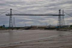 纽波特运输者桥梁 免版税库存图片