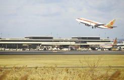 纽瓦克机场在新泽西 免版税图库摄影