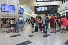纽瓦克机场 库存照片