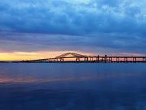 纽瓦克海湾引伸新娘路线78 库存照片