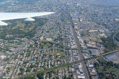 纽瓦克鸟瞰图,新泽西,美国 库存图片