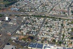 纽瓦克鸟瞰图,新泽西,美国 库存照片