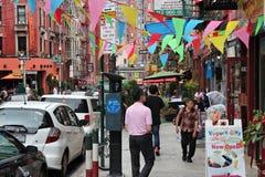 纽约一点意大利 免版税库存照片