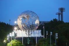 1964年纽约世界s公平的Unisphere 免版税库存照片