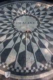 纽约中央公园是一个全国古迹自1963年以来并且是被参观的都市公园在美国 免版税库存照片