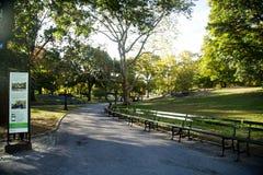纽约中央公园  库存照片