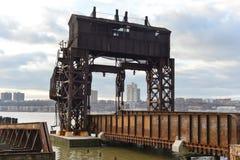 纽约中央铁路第69街道调动桥梁 免版税库存照片