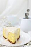 纽约乳酪蛋糕 图库摄影