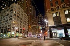 纽约交叉点 免版税库存照片