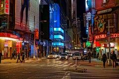 纽约交叉点 库存图片
